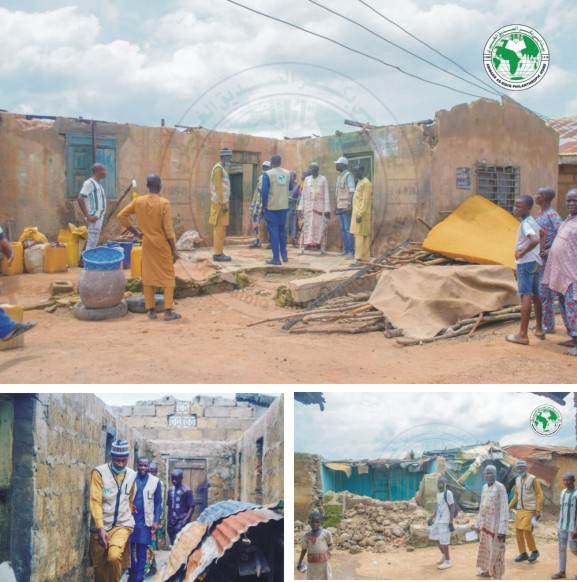 A Physical Assessment on Communities hit by the recent Heavy Rainstorm and Flood Disasters in Kwara State